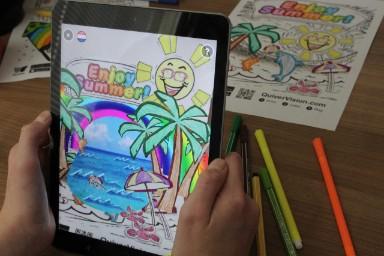 Kleurplaten Digitaal Inkleuren.Breng Je Kleurplaat Tot Leven In Augmented Reality