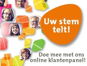 Uw stem telt! Doe mee met ons online klantenpanel!